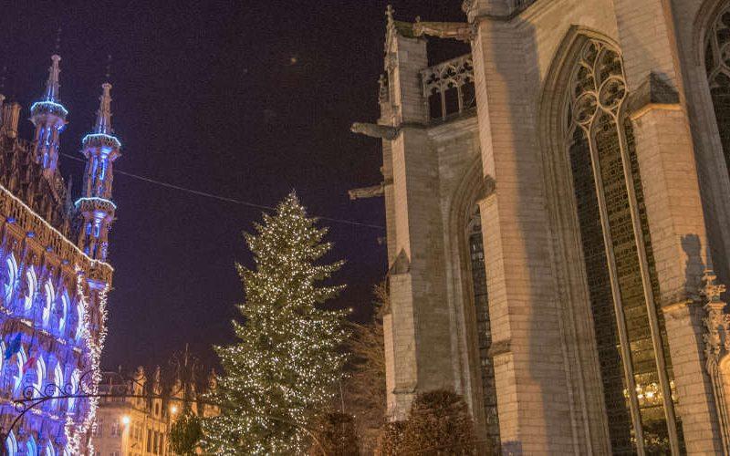 Christmas market Leuven