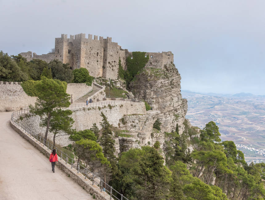 erice castle sicily points of interest