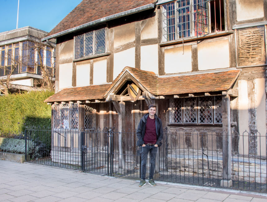 Checkoutsam Stratford Upon Avon Shakespeares Birthplace