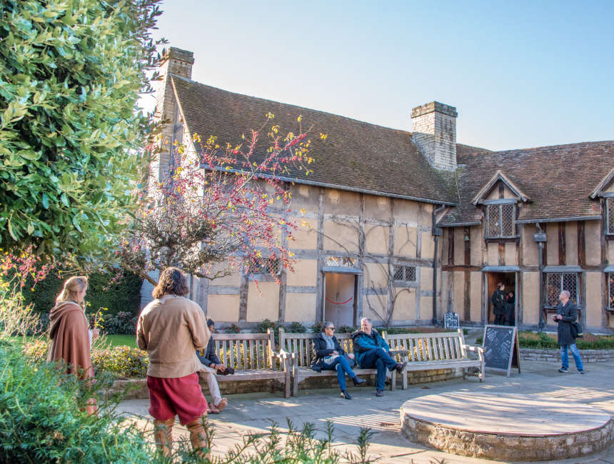 Stratford Upon Avon Shakespeare Hometown
