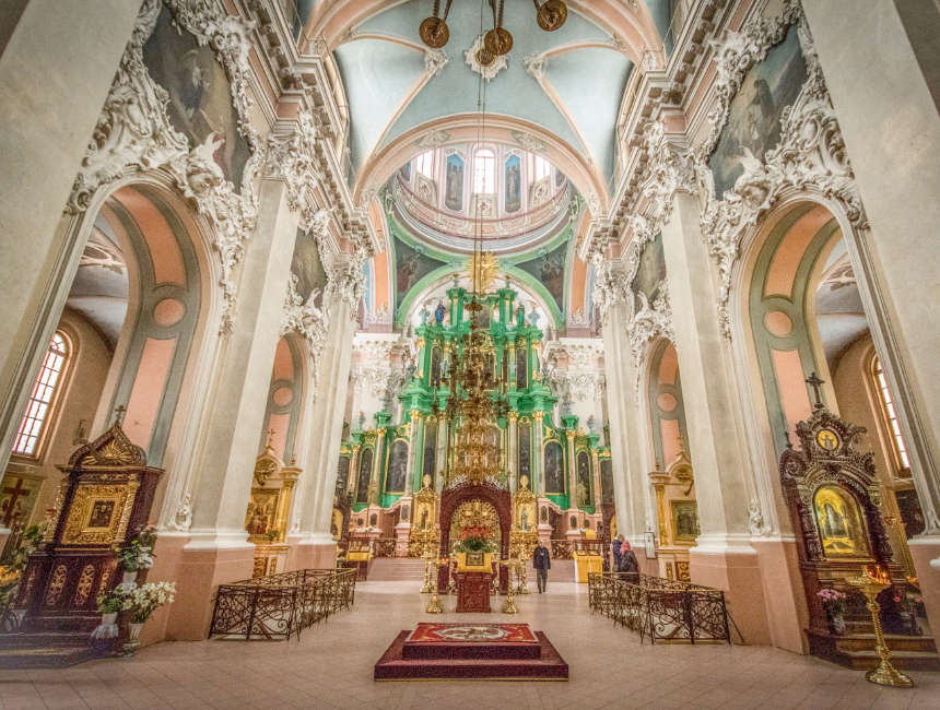 orthodox church of the holy spirit vilnius attractions