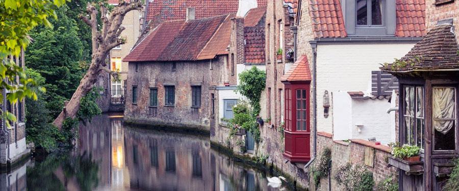 belgium bruges canals