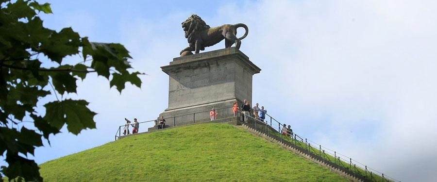 belgium lion of Waterloo