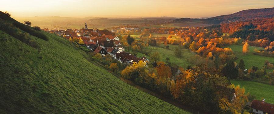 germany countryside schieder schwalenberg