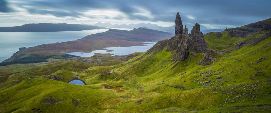 old man of storr scottisch highlands