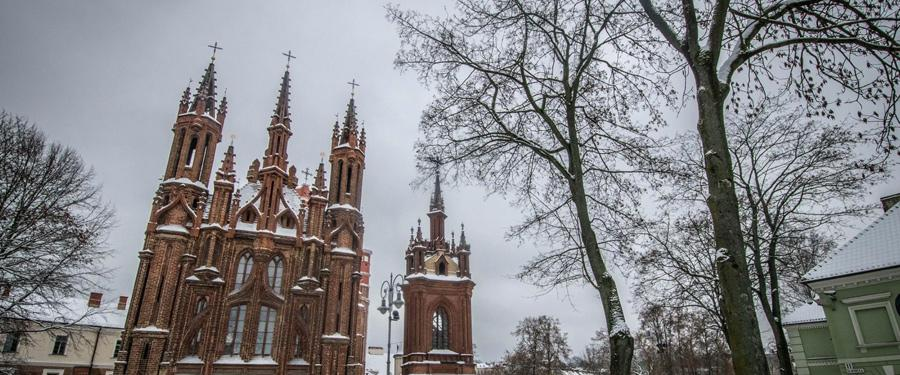 vilnius st anna church