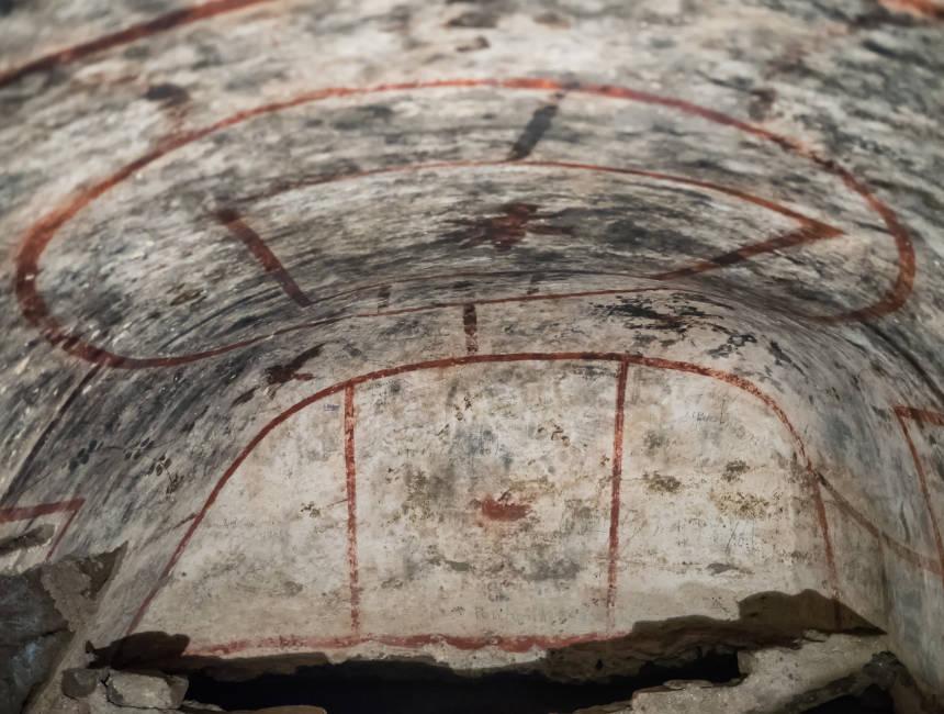 catacombs st agnes rome