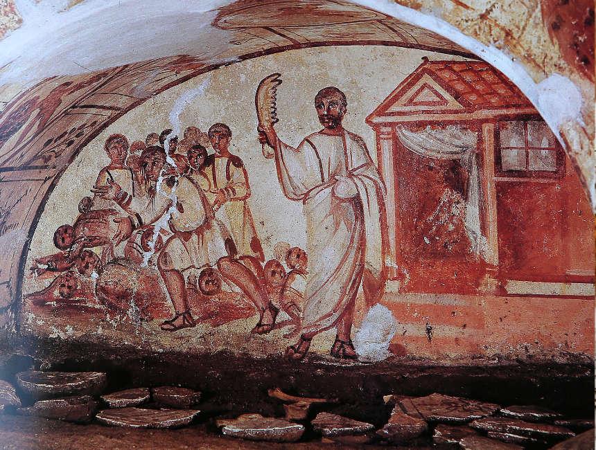 mural catacombs rome