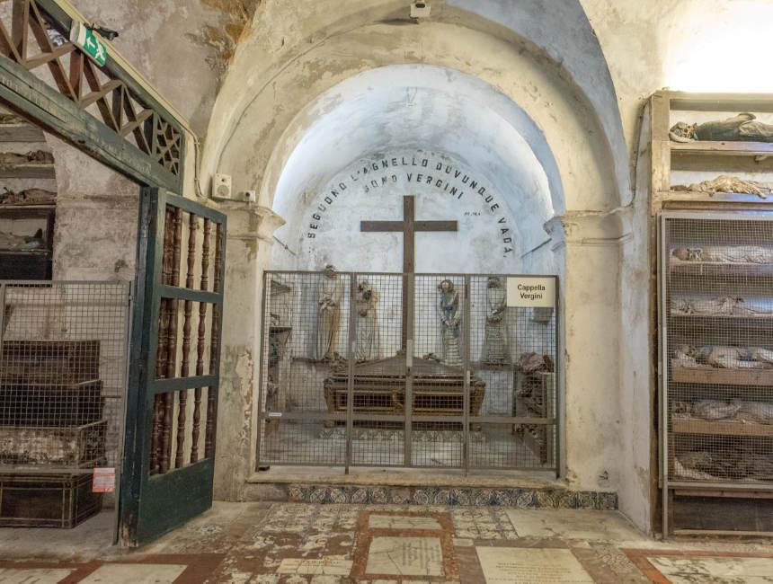 cappella vergini catacombs palermo