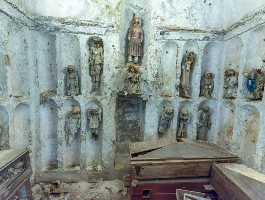 capuchin catacombs of palermo children