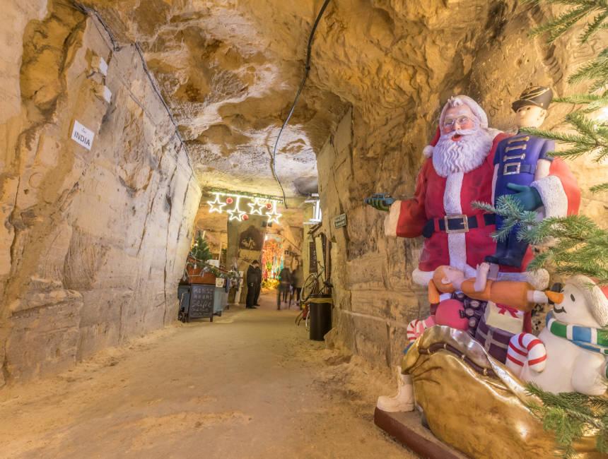 marl maastricht caves valkenburg