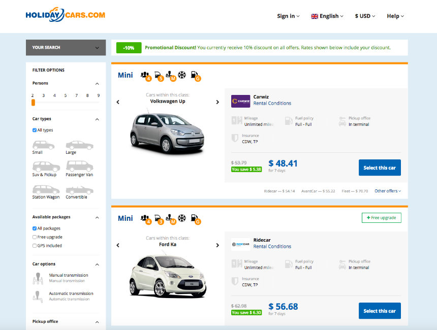 Cheapest Way To Rent Car For Week