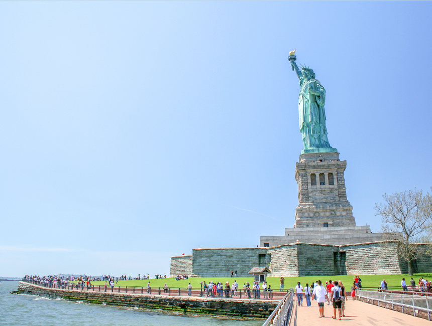 trip statue of liberty