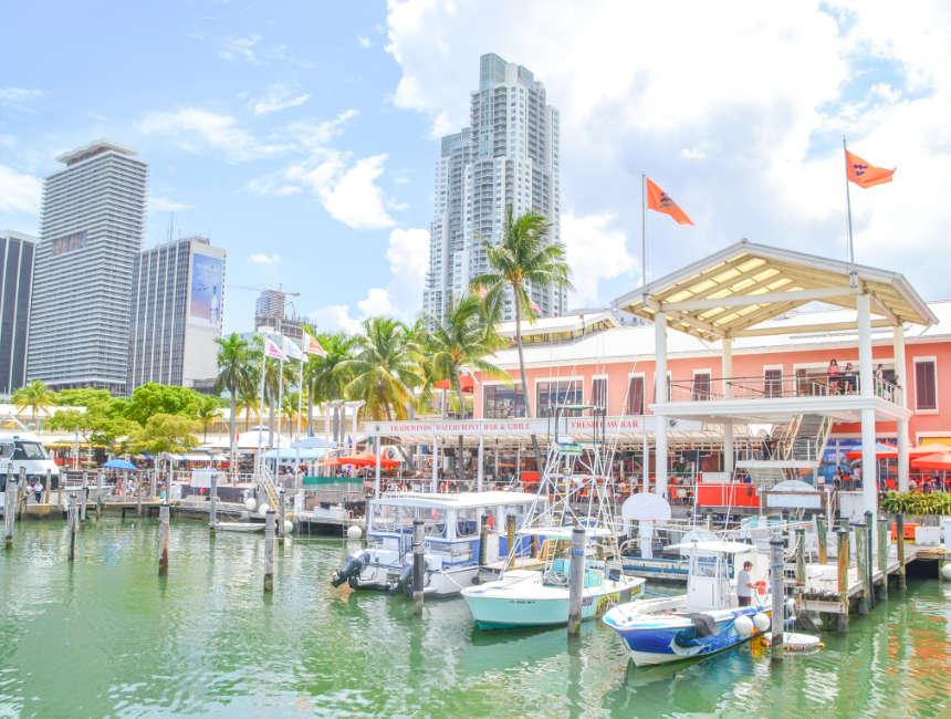bayside market miami places to visit