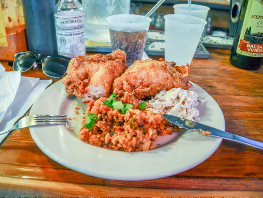 fried chicken coops place new orleans