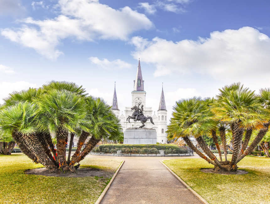 jackson square things to do in NOLA