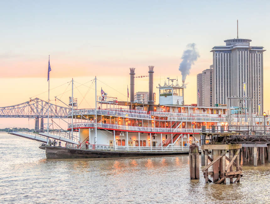 mississippi steamers cruise new orleans