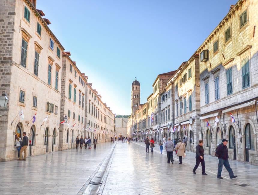itinerary croatia dubrovnik