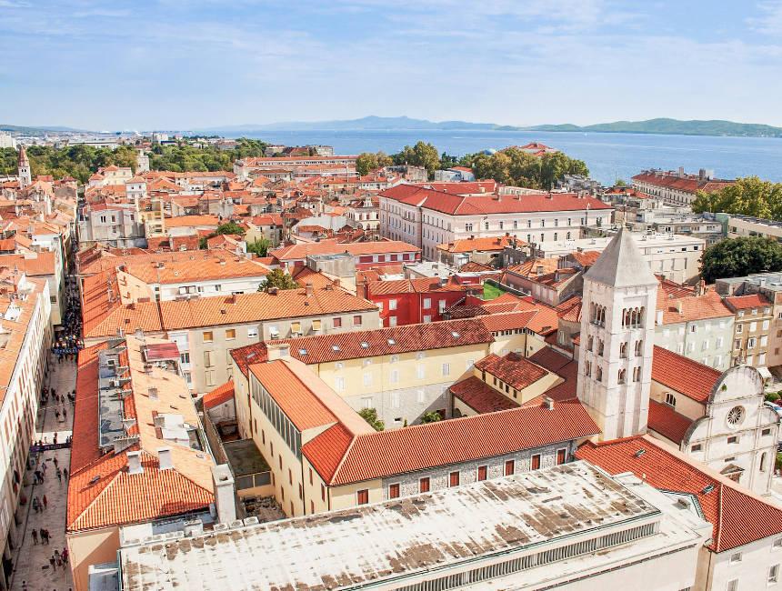 itinerary croatia zadar