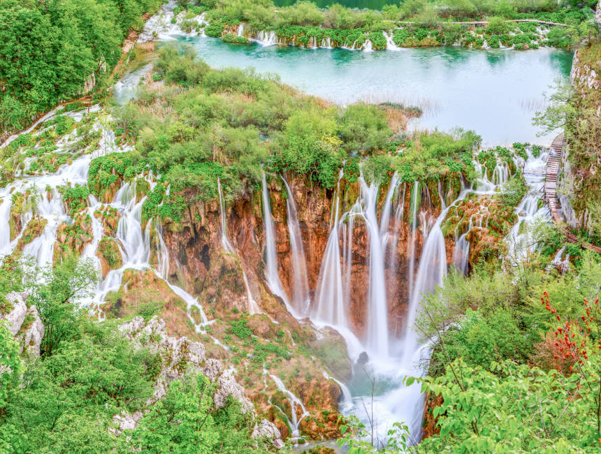 road trip croatia plitvice lakes