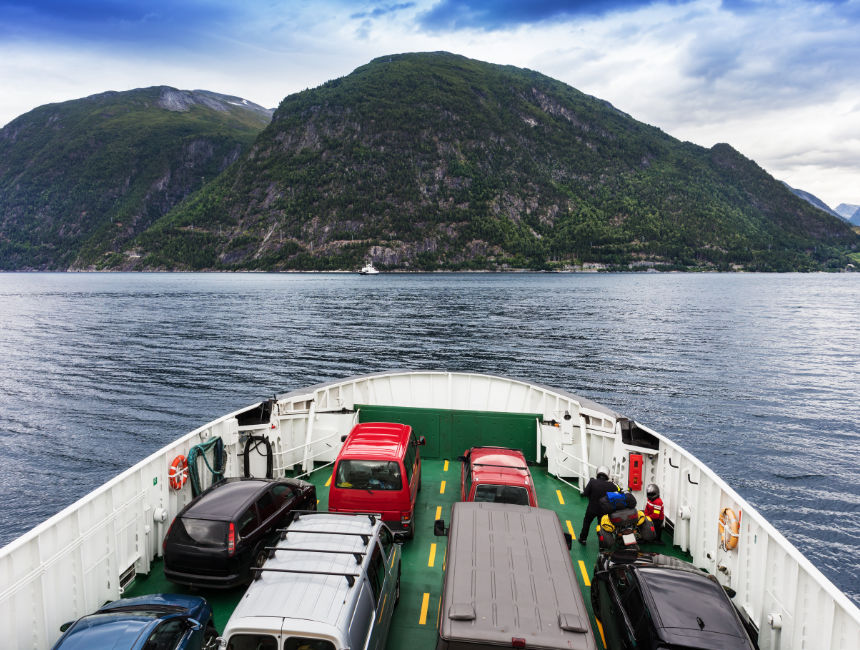 car rental norway ferry