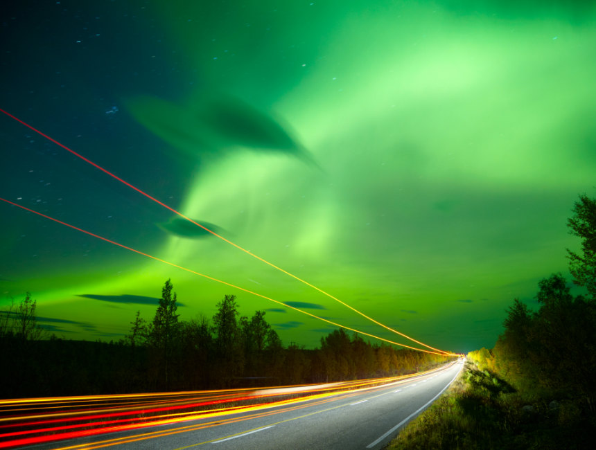 northern lights car hire norway