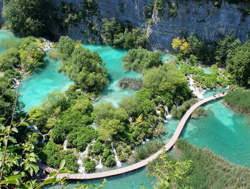 plitvice lakes car rental croatia