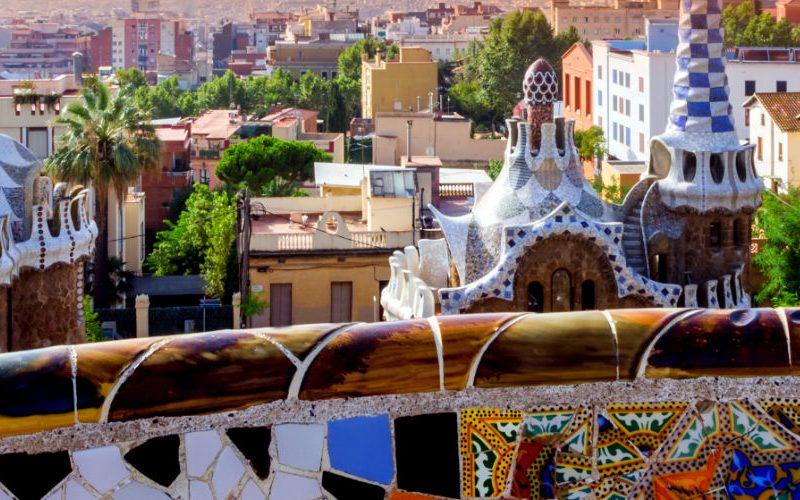 buildings gaudi barcelona