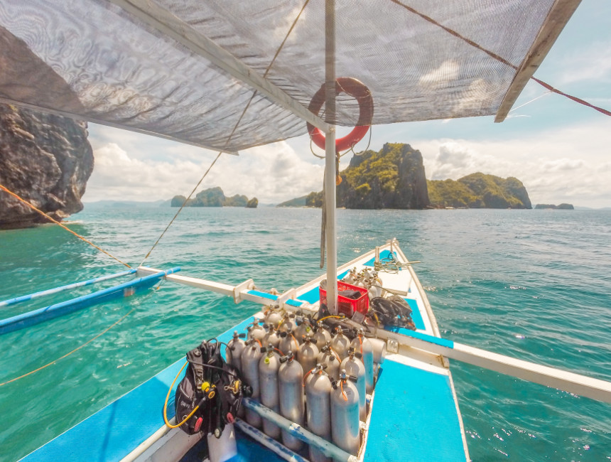 diving in the philippines palawan things to do