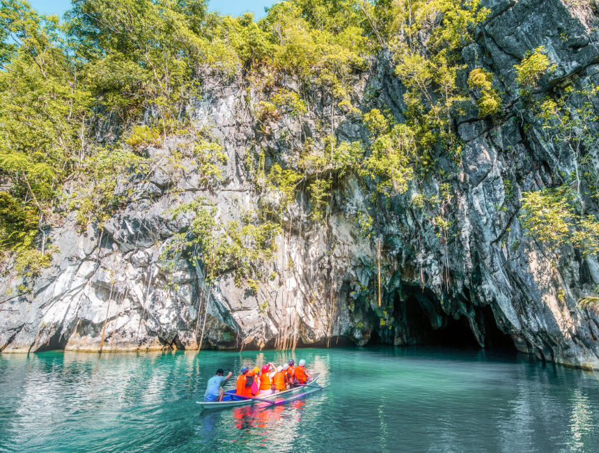 puerto princessa underground caves river