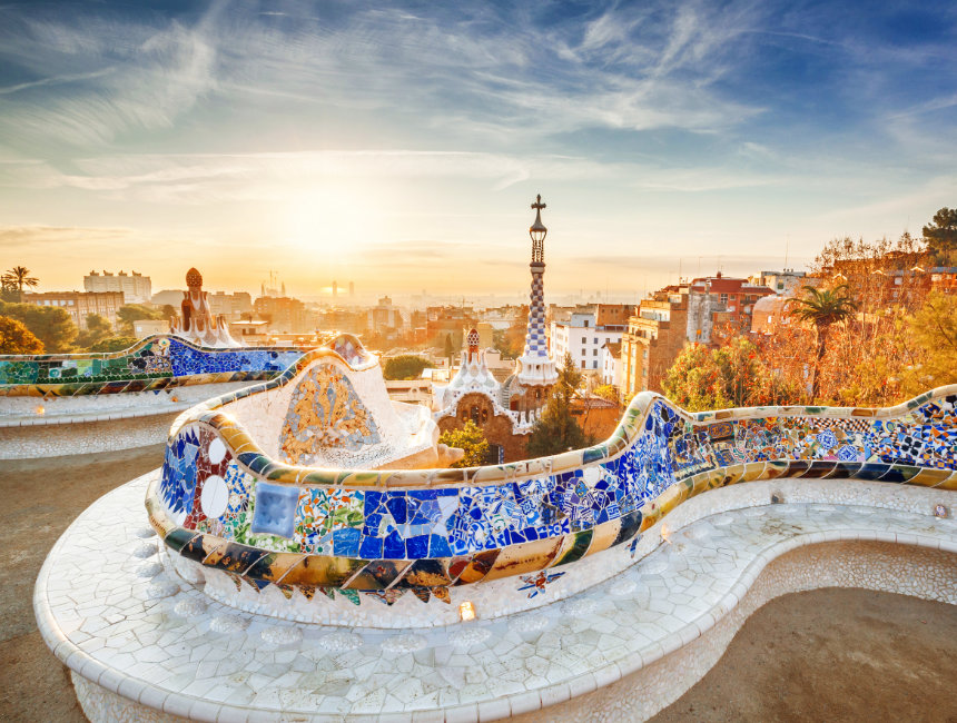 nature square park guell things to see