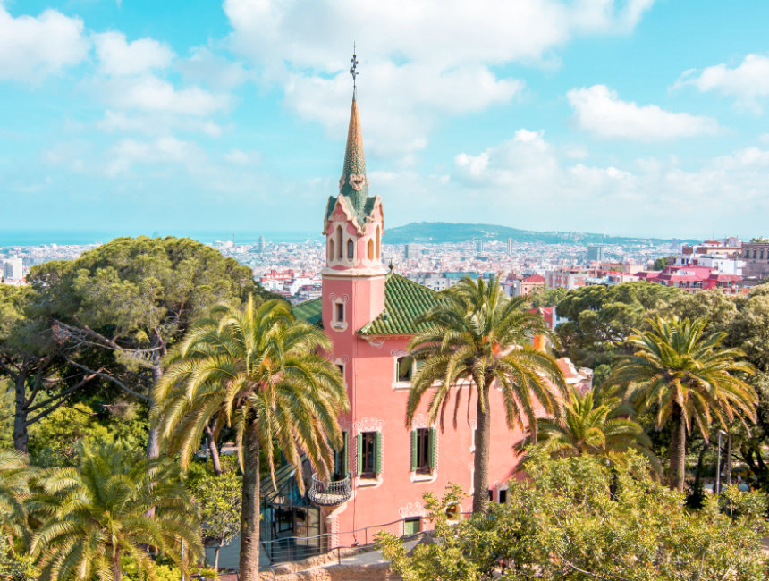 park guell what to see torre rosa