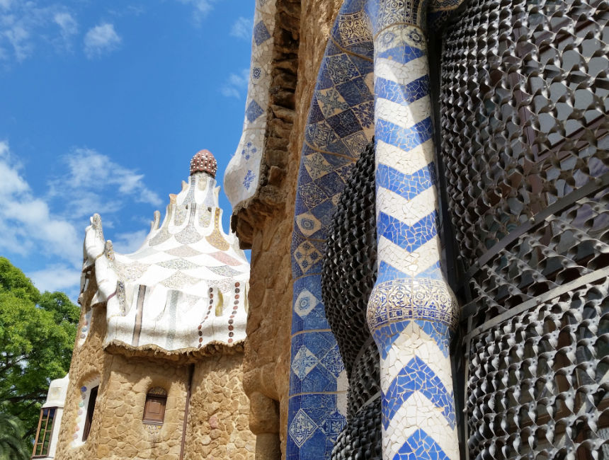 what to see in Park Guell
