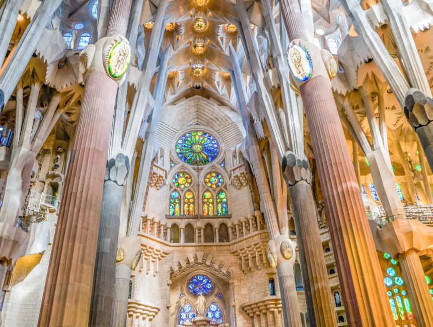 church Gaudi Barcelona