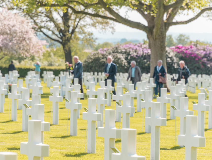 faces of margraten american cemetery