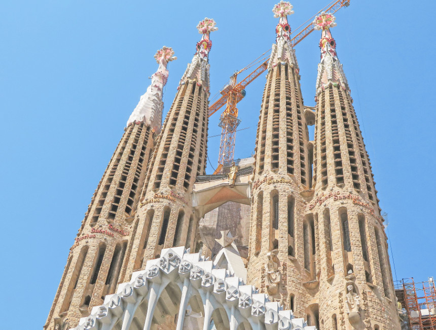 visit Sagrada Familia Gaudi