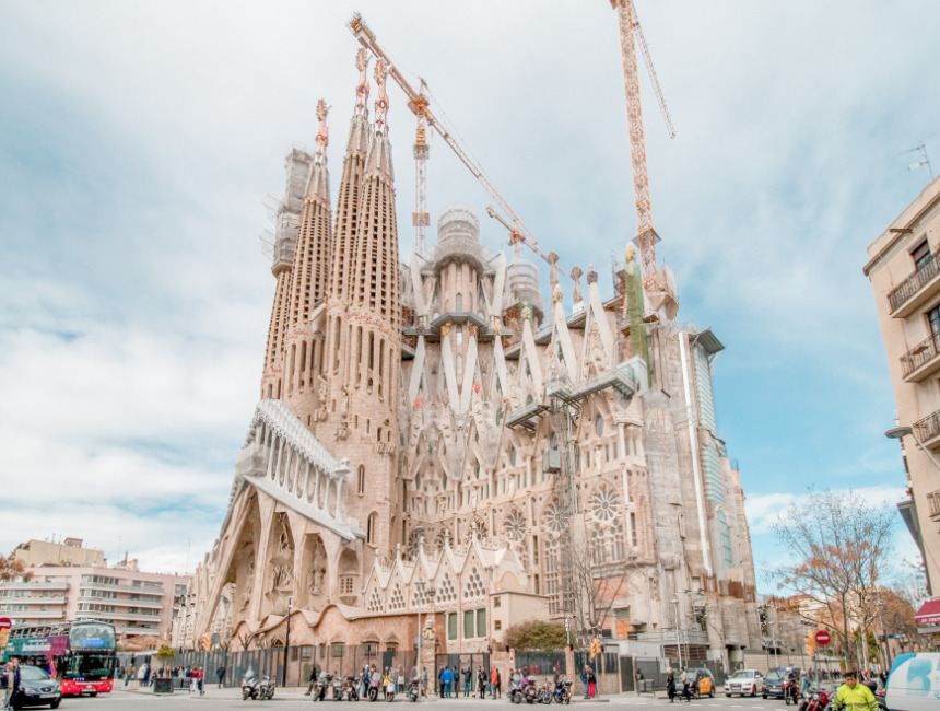 when is the Sagrada Familia finished