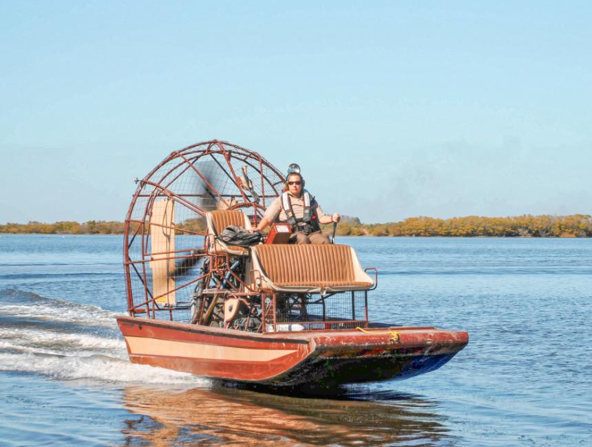 NOLA airboat tour