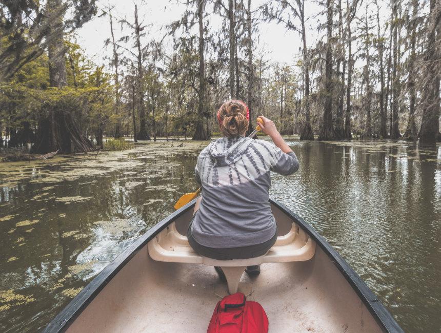 Kayak tours New Orleans