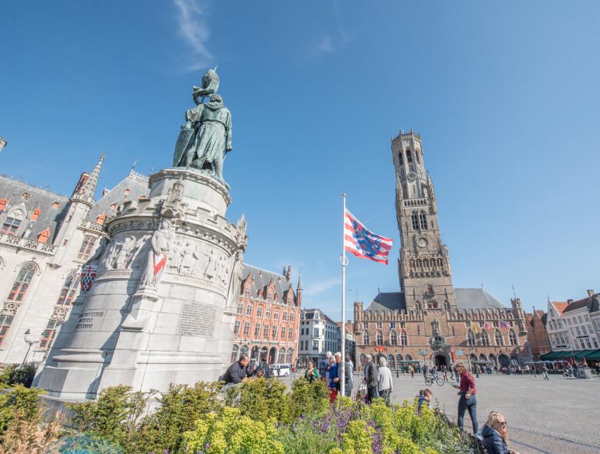 day trip Amsterdam Bruges
