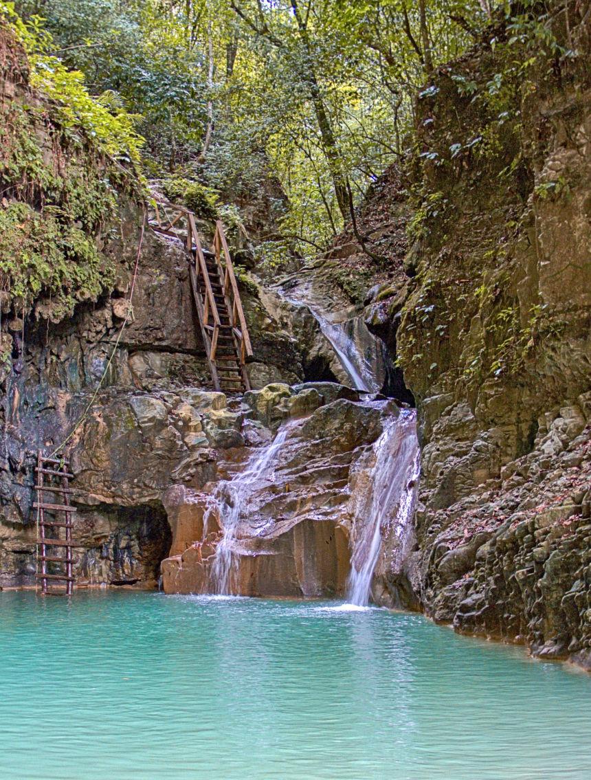Damajagua waterfalls Puerto Plata