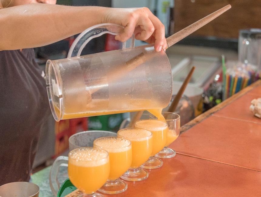 poncha madeira drink