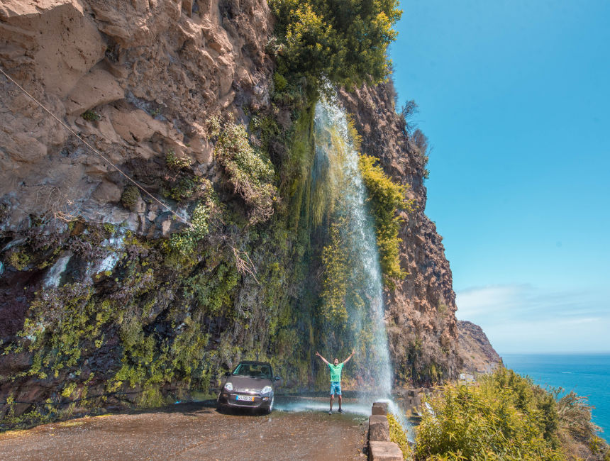 waterfall road madeira things to do