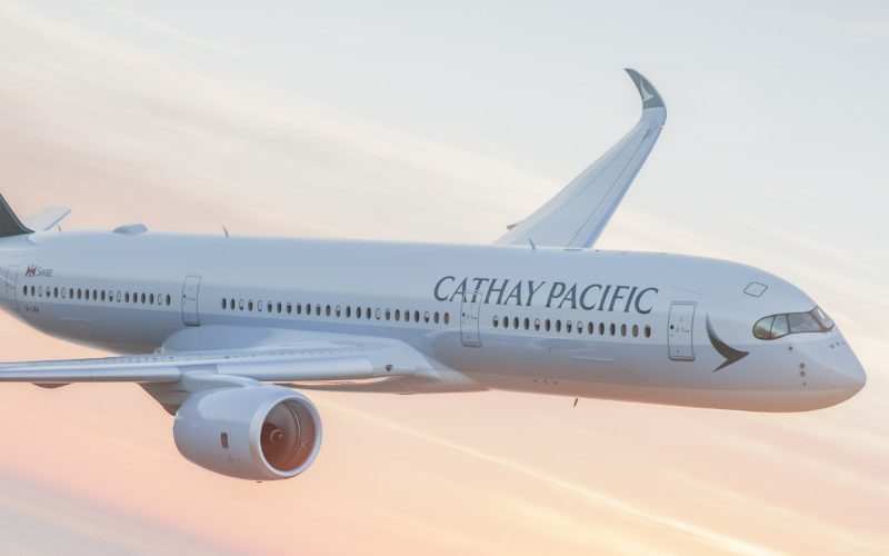 Cathay Pacific flight Brussels Hong Kong
