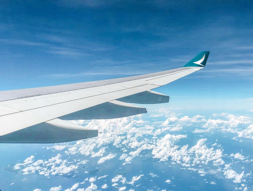 cathay pacific plane logo