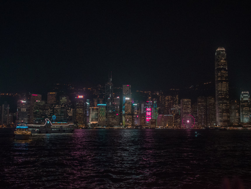 skyline things to do in hong kong at night