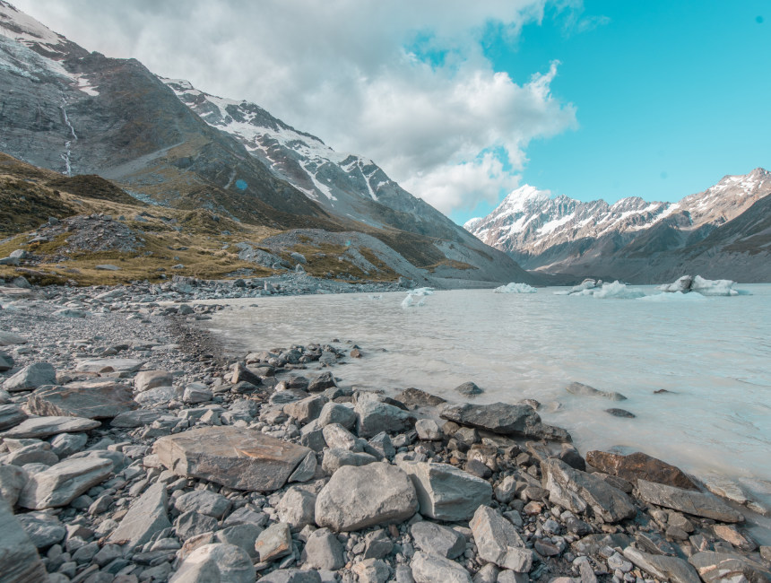 new zealand what to do hooker valley track