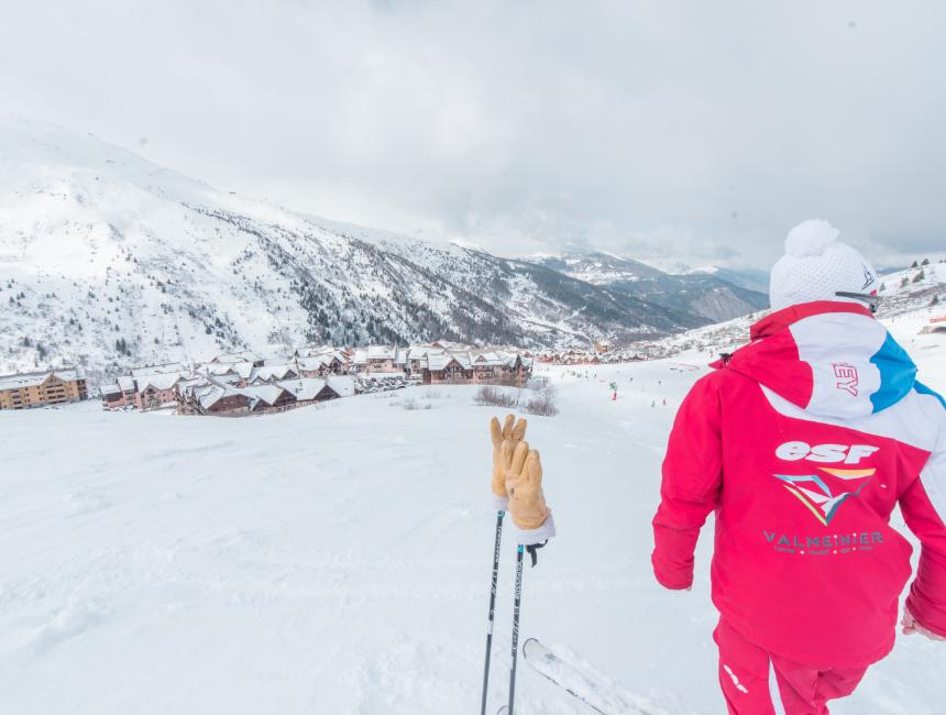 ESF Valmeinier ski courses