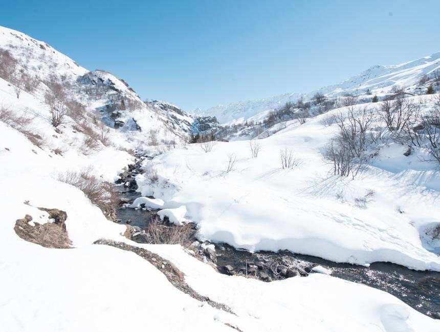 spring Valmeinier winter sports