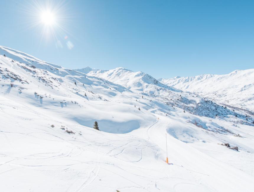 winter sports Valmeinier